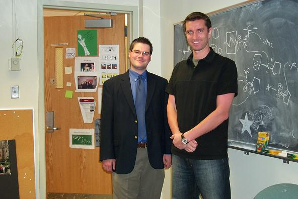 Alexander Marchione  (Alumni Award for Scholastic Achievement; Graduate Award Luncheon May '06) and AJR