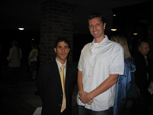 JPP after the Honors Award Ceremony May 2006