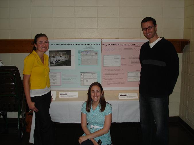 LG, RS and AJR at CURCA May 08