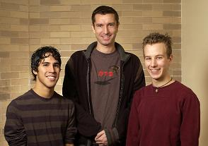 Jean-Pierre Pinto and Steven Chew (Undergraduate Research Grant Recipients) Jan 06